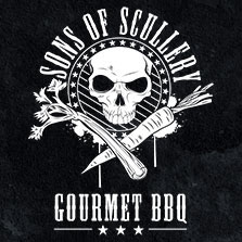 sons of scullery logo decal and card