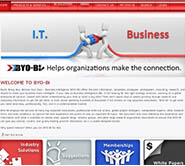 byo-bi simple clean web design
