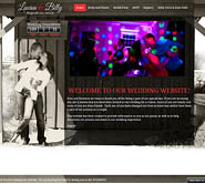 awesome wedding website design, wedding website, custom web design